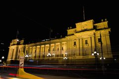 Il Parlamento alloggia a Melbourne. Fotografia Stock