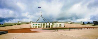 Il Parlamento australiano alloggia Immagini Stock