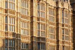 Il Parlamento britannico. Immagine Stock