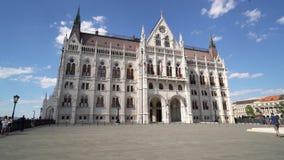 Il Parlamento a Budapest video d archivio