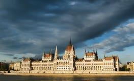 Il Parlamento a Budapest Fotografia Stock Libera da Diritti