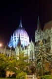 Il Parlamento a Budapest Fotografia Stock