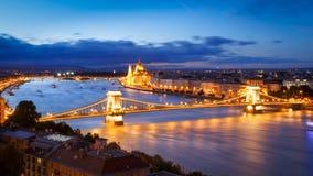 Il Parlamento, Budapest Fotografia Stock Libera da Diritti