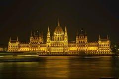 Il Parlamento, Budapest, Ungheria Fotografie Stock