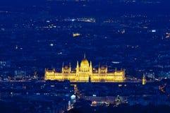 Il Parlamento, Budapest, Ungheria Fotografia Stock Libera da Diritti