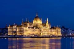 Il Parlamento, Budapest, Ungheria Fotografie Stock Libere da Diritti