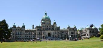 Il Parlamento Building-2 della Columbia Britannica Fotografia Stock