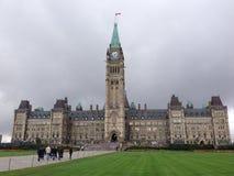 Il Parlamento canadese Fotografia Stock Libera da Diritti