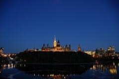 Il Parlamento canadese fotografie stock libere da diritti