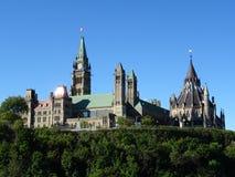 Il Parlamento canadese Fotografia Stock