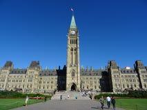 Il Parlamento canadese Fotografie Stock