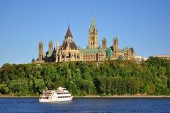 Il Parlamento del Canada Fotografie Stock Libere da Diritti