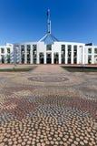 Il Parlamento dell'Australia alloggia il mosaico Fotografia Stock Libera da Diritti