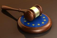 Il Parlamento dell'Eu di leggi dell'Unione Europea Immagini Stock Libere da Diritti