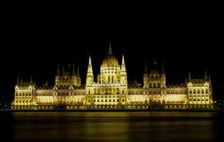 Il Parlamento dell'Ungheria immagini stock