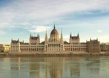Il Parlamento dell'Ungheria Immagine Stock Libera da Diritti
