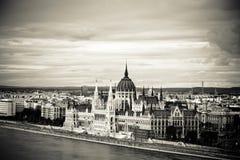 Il Parlamento dell'Ungheria, Budapest immagini stock libere da diritti