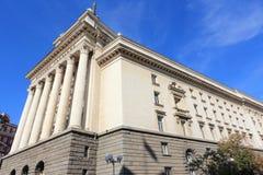 Il Parlamento della Bulgaria fotografie stock