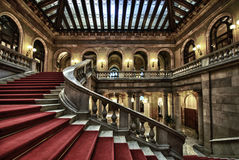 Il Parlamento della Catalogna - Barcellona Fotografia Stock Libera da Diritti