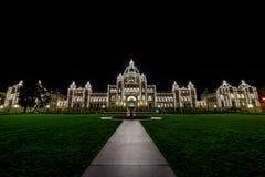 Il Parlamento della Columbia Britannica Fotografie Stock