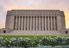 Il Parlamento della Finlandia, Helsinki fotografia stock