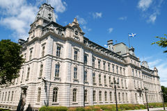 Il Parlamento della Quebec Fotografia Stock Libera da Diritti