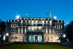 Il Parlamento di Belgrado Fotografia Stock