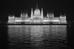 Il Parlamento di Budapest Fotografie Stock Libere da Diritti