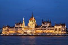 Il Parlamento di Budapest Fotografia Stock Libera da Diritti