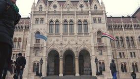 Il Parlamento di Budapest, Ungheria archivi video
