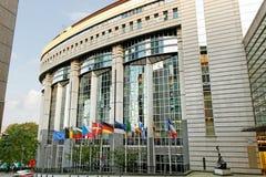 Il Parlamento di UE. Immagine Stock