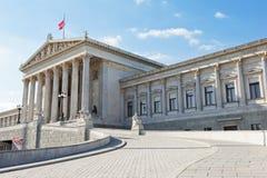 Il Parlamento di Vienna Fotografie Stock