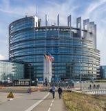 Il Parlamento Europeo, Strasburgo Fotografie Stock