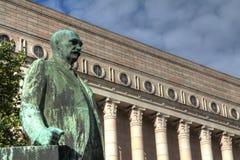 Il Parlamento finlandese alloggia Immagini Stock