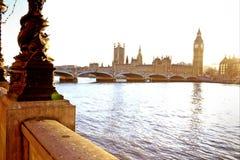 Il Parlamento Londra Fotografia Stock Libera da Diritti