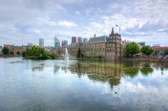 Il Parlamento olandese di Binnenhof, Aia, Paesi Bassi fotografia stock