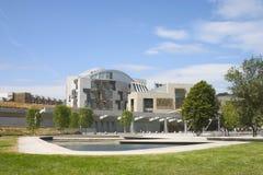 Il Parlamento scozzese 1 Fotografia Stock