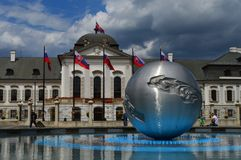 Il Parlamento slovacco Fotografia Stock