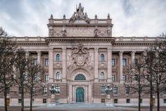 Il Parlamento svedese Fotografia Stock Libera da Diritti