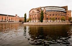 Il Parlamento svedese, Stoccolma Fotografie Stock