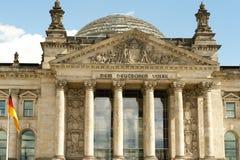 Il Parlamento tedesco Bundestag a Berlino, Germania Immagine Stock