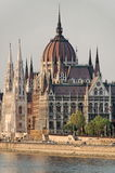 Il Parlamento ungherese Immagini Stock Libere da Diritti