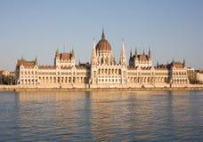 Il Parlamento ungherese. Fotografia Stock Libera da Diritti