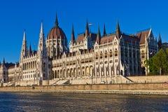 Il Parlamento ungherese Fotografia Stock Libera da Diritti