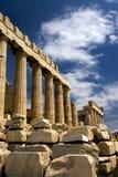 Il Parthenon a Atene fotografia stock libera da diritti