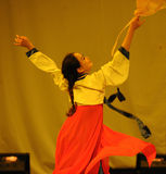 Il partito coreano di concerto di graduazione della classe di dancing di nazionalità rotation-2011 Fotografia Stock Libera da Diritti