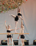 Il partito di concerto di graduazione della classe di dancing dell'università -2011 della Cina Jiaotong di dea-est Immagini Stock Libere da Diritti