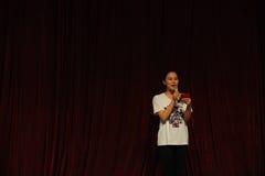 Il partito di concerto di graduazione della classe di dancing dell'università -2011 della Cina Jiaotong di moderatore-est dello s Immagini Stock