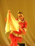 Il partito di concerto di graduazione della classe di dancing di nazionalità di Han handkerchief-2011 Fotografie Stock Libere da Diritti