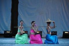 Il partito di concerto di graduazione della classe di dancing di Shao Duoli-2011 di nazionalità di DAI Immagine Stock Libera da Diritti